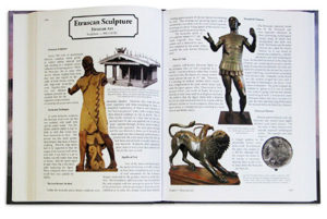 Example Spread from TMAHA Art History Textbook